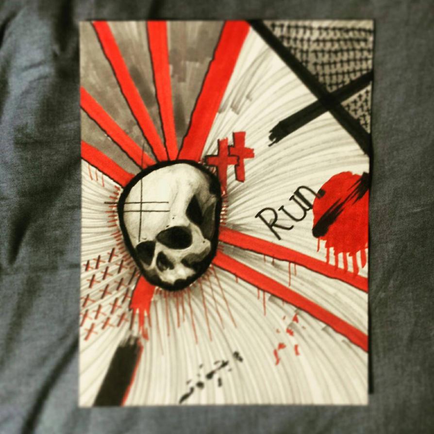 Trash Polka Skull By Mcrdesign On Deviantart: Trash Polka Skull By C0NKERB On DeviantArt