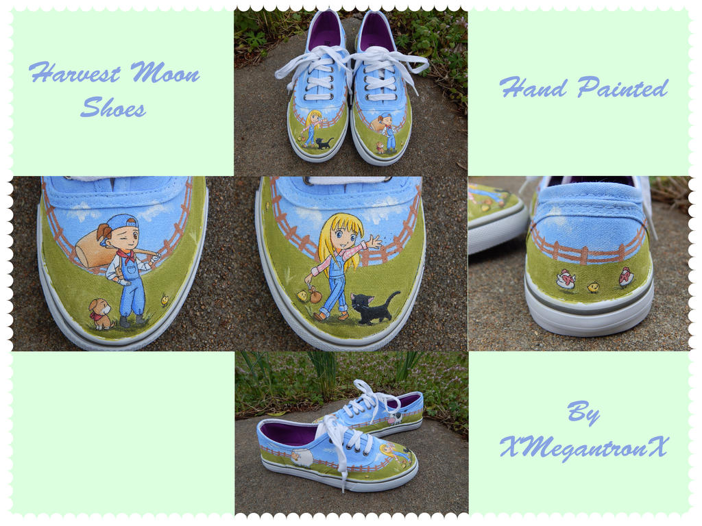 Harvest Moon shoes 2 by XMegantronX