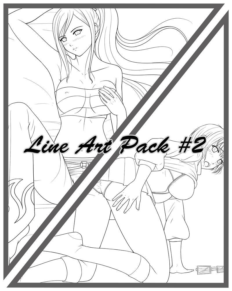 Line art Pack 2 by XMegantronX