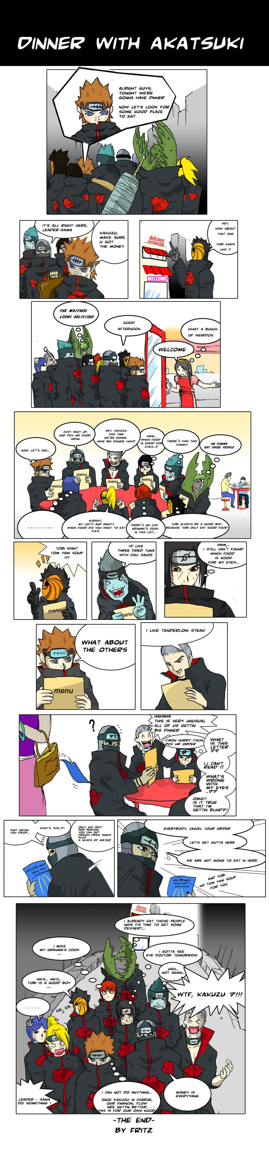 Funny Akatsuki Comics #21