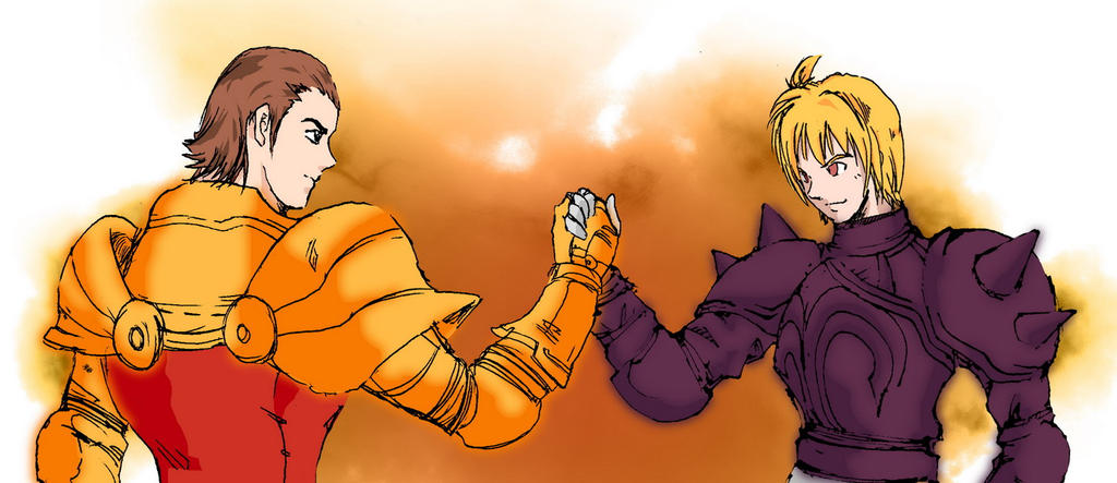 delita and ramza by fritz84