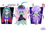 (Open) Chibi Plant And Fish Adoptables by goPandaawake
