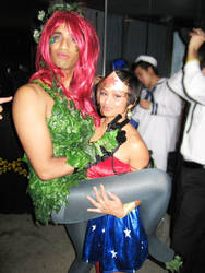 Wonderwoman and Ivy