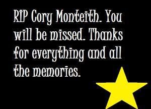 RIP Cory