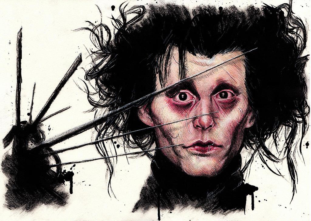 Johnny depp edward scissorhands