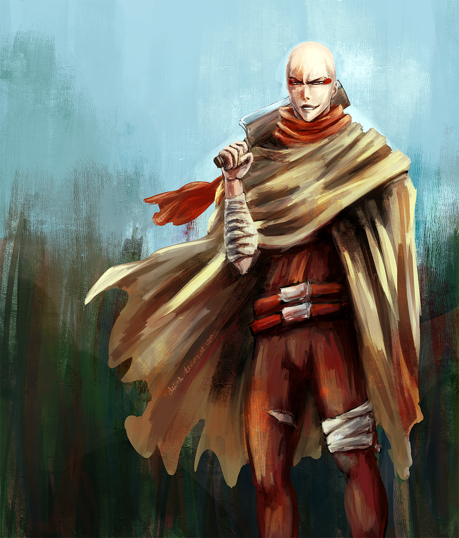 Beastman Ikkaku by Drimr