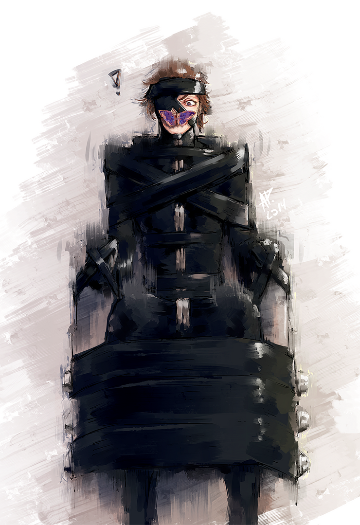 Aizen And His Bondage Chair By Drimr On Deviantart