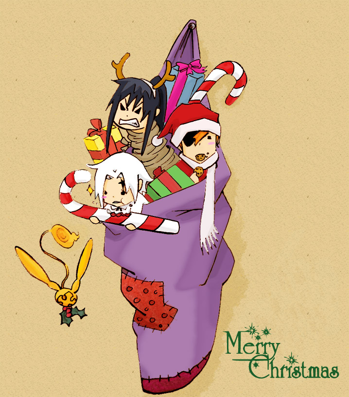 ¡¡RASEN MAHOU OS DESEA FELIZ NAVIDAD!! - Página 2 DGM__Merry_Christmas_by_carichan