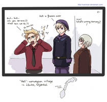 Hetalia: norwegian hell by carichan