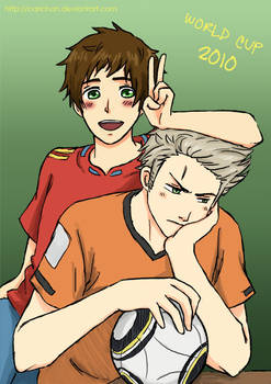 APH: World Cup 2010 by carichan