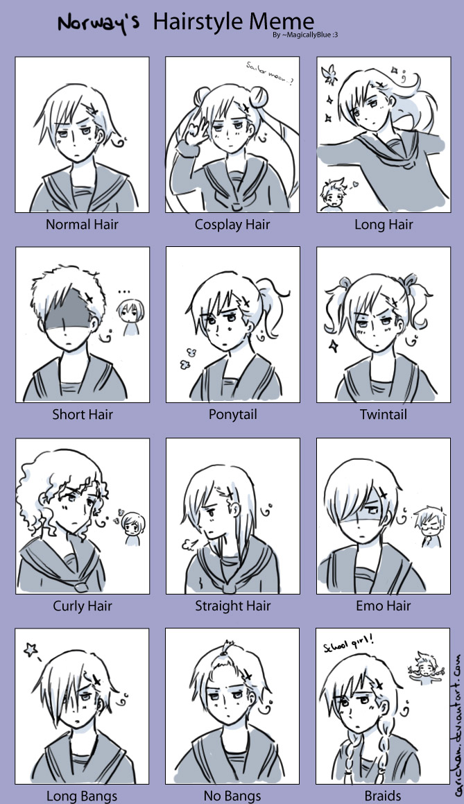 Aph Norway Hairstyle Meme By Carichan On Deviantart