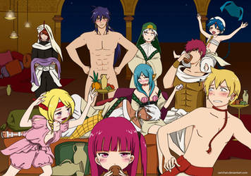 MAGI: Just a bit of alcohol