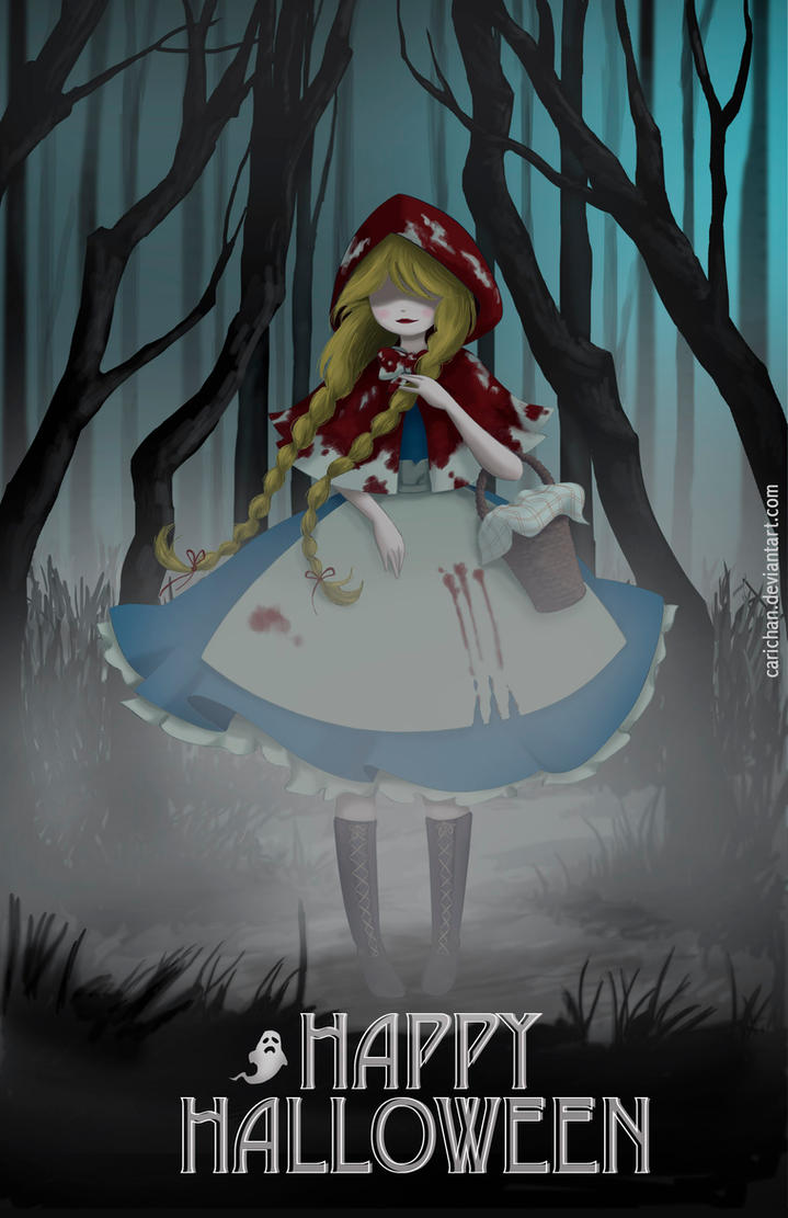 The Red Riding Hood by carichan