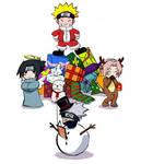 Naruto Christmas fanart