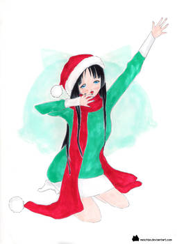 mio akiyama christmas