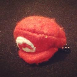 Handmade Mario felt cap