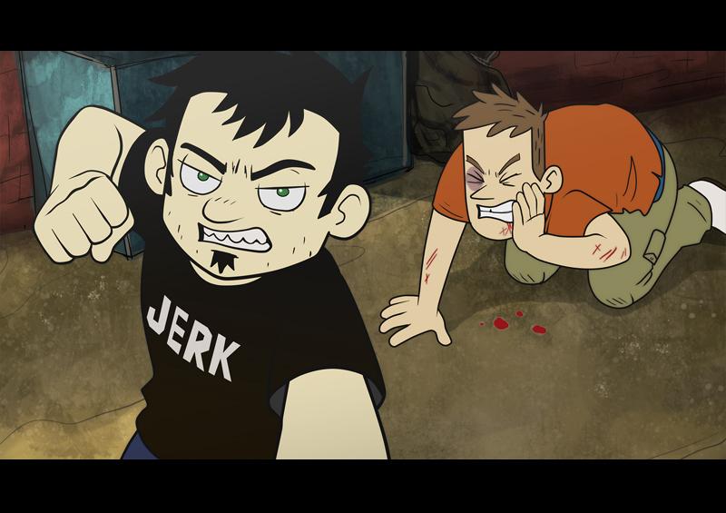 Angry Dan by kichigai