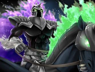Fright Knight by kichigai