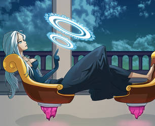 Magic Girl by Teutron