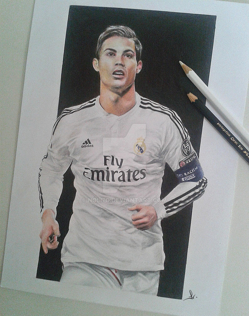 Cristiano ronaldo by noli7o on deviantart
