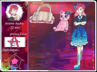 [ColorWar] Arame Asuka