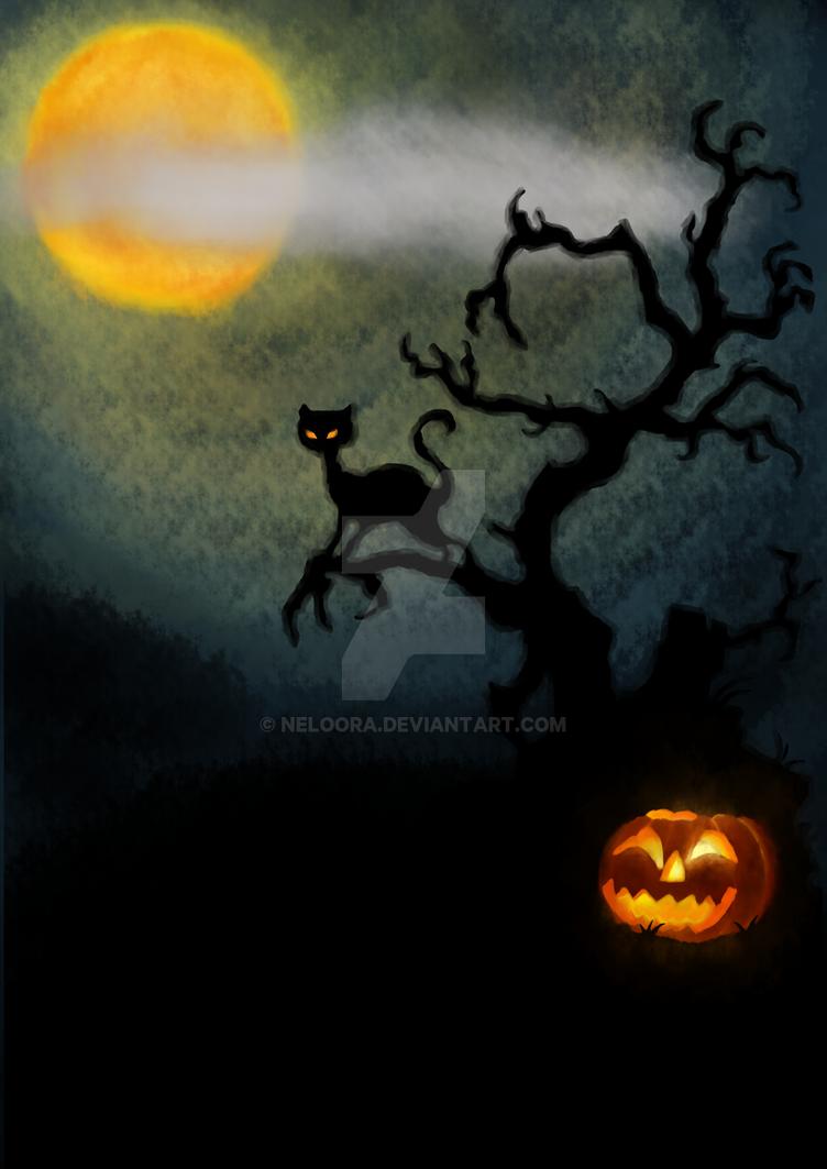 halloween party poster background by neloora on DeviantArt