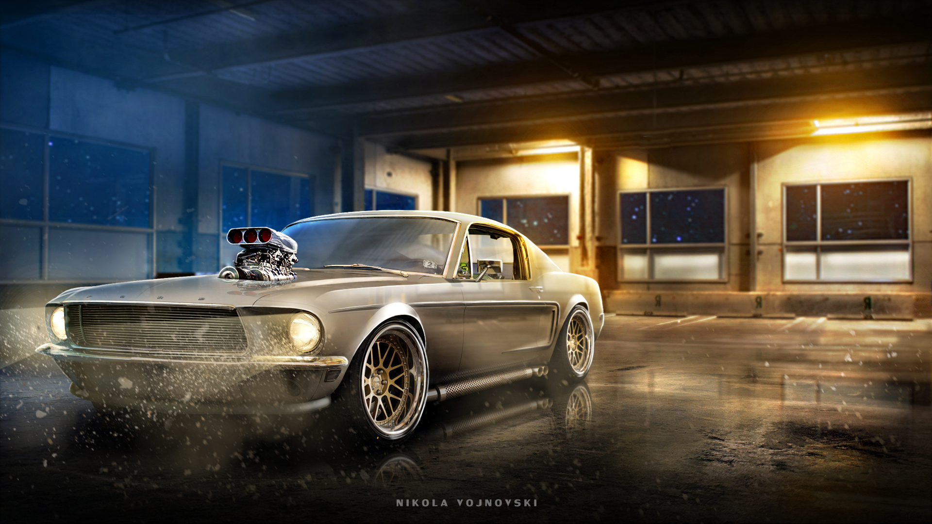 Custom Mustang Wallpaper