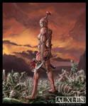 Female Veltrauss Warrior