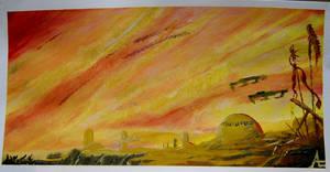 Acrylic Practice 3 by AlexanderLeon
