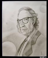 Isaac Asimov - Caricature by AlexanderLeon