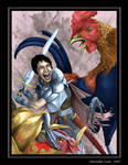 Battle with Giant Chickens