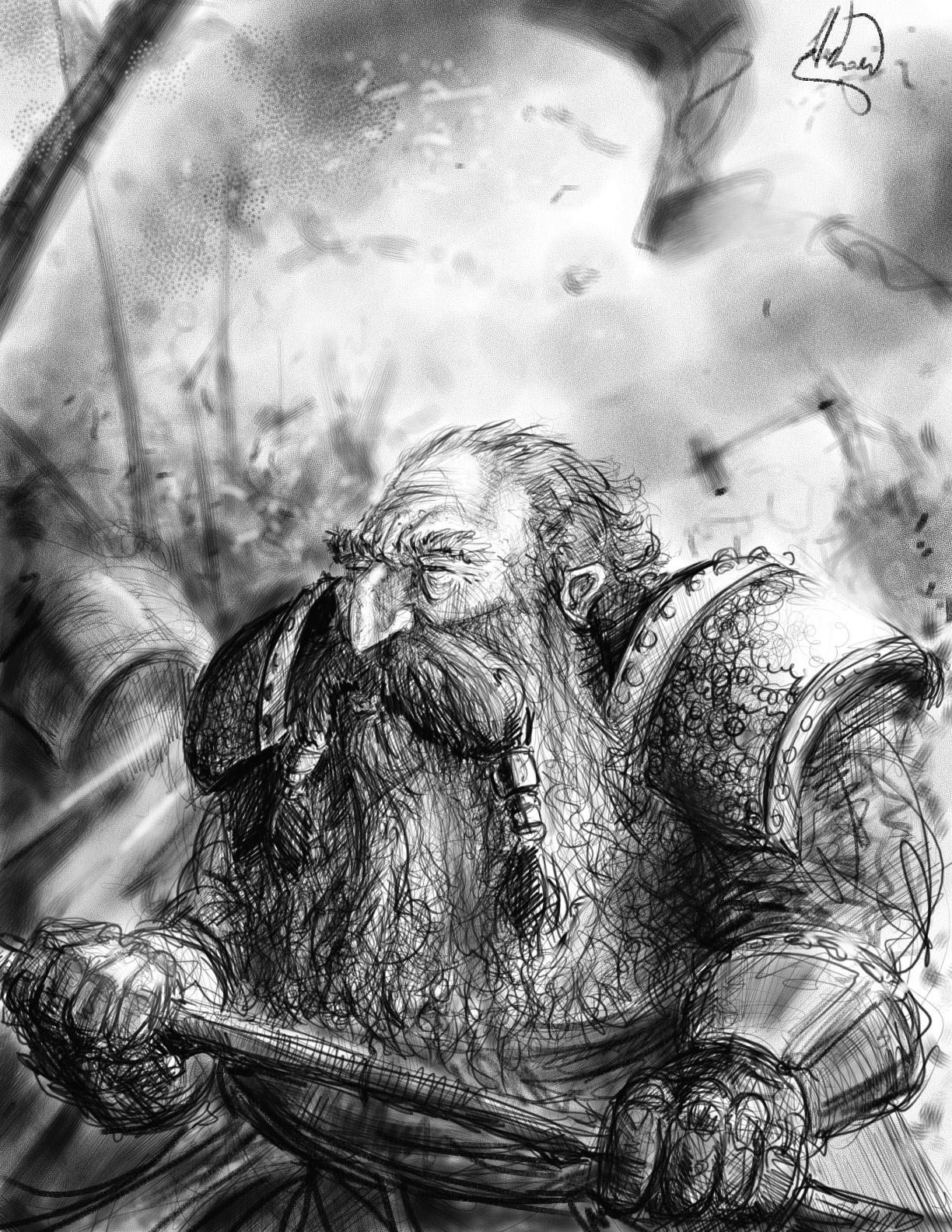 Dwarf - 01 by AlexanderLeon