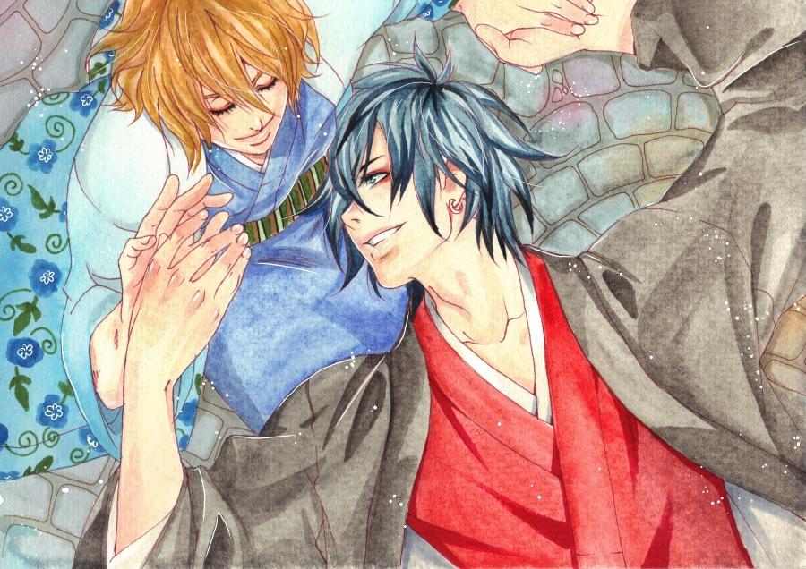 Makoto + Akira by Shugarcherry