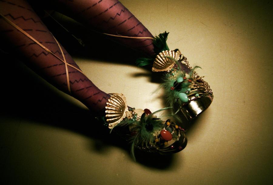 Stilettos + Cardiograms by Skathanas
