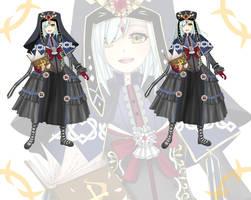 free custom gift- gothic winter nun  for Ateliae by ViralTetris