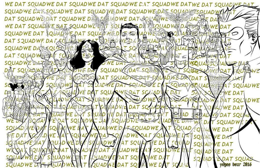 We Dat Squad by killabearcomics