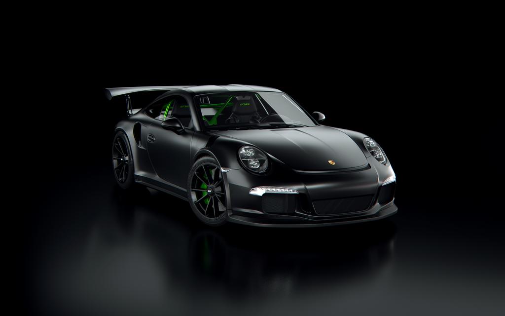 porsche 911 gt3 rs 2016 matte black by tuff3r on deviantart. Black Bedroom Furniture Sets. Home Design Ideas