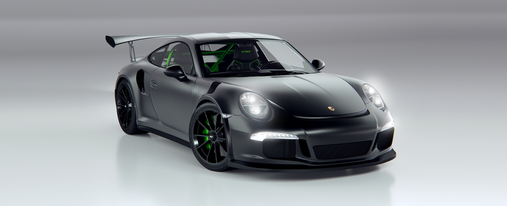 Porsche 911 Gt3 Rs Matte Black By Tuff3r On Deviantart