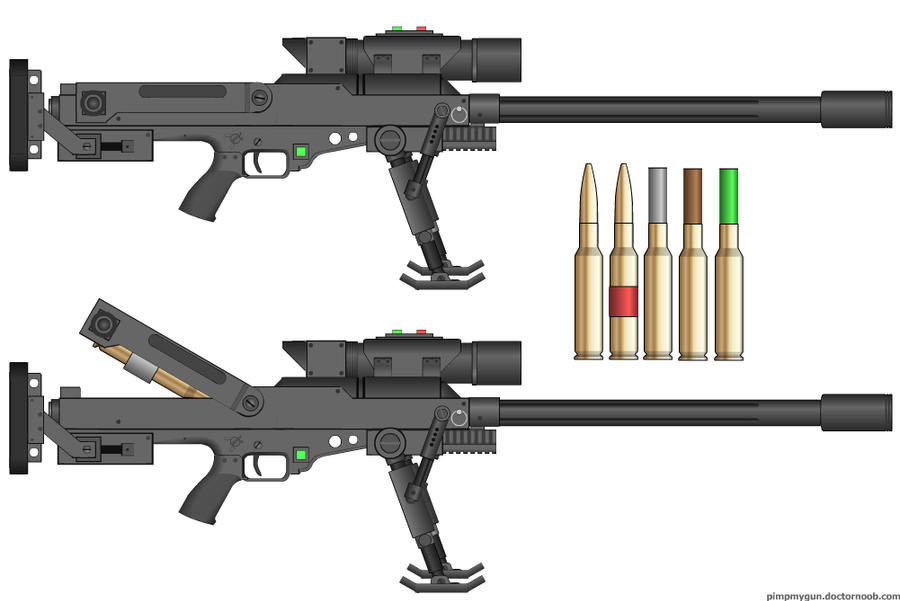 m 499 30mm anti material rifle by dronner66 on deviantart. Black Bedroom Furniture Sets. Home Design Ideas