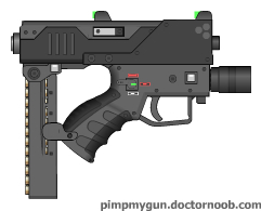 M61 Machine Pistol by dronner66