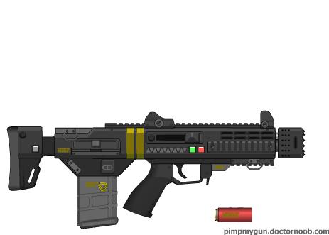 Mk.1 Pit-bull CQC Shotgun by dronner66