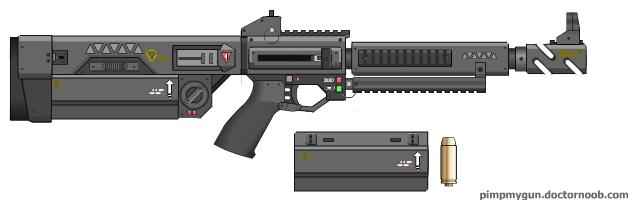 M-290 Rhino 50 cal. Rifle -Prize Gun 3- by dronner66