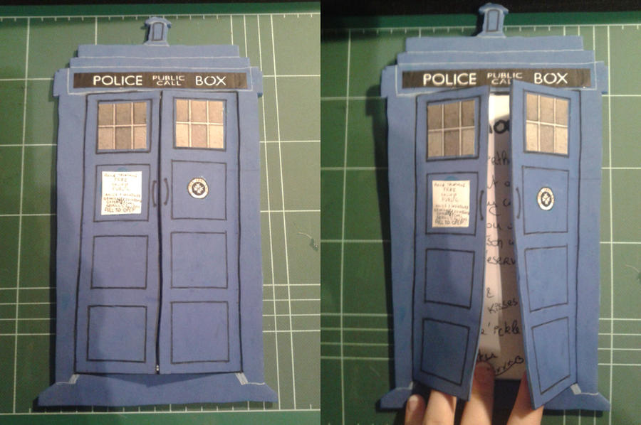 Doctor Who Birthday Card For Friend By Nekoxdei On Deviantart
