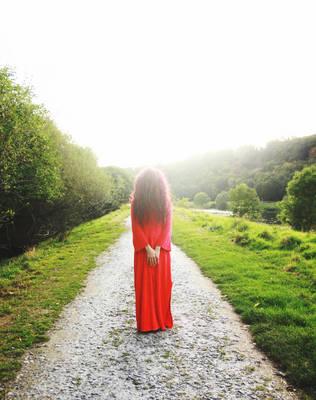 towards lucid, your queen in red by bebefromtheblock