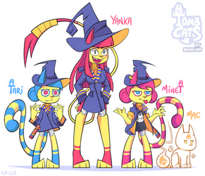 Tomb Cats: Witch squad