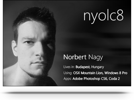 nyolc8's Profile Picture