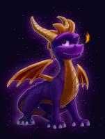 Spyro The Dragon by CosmicSevour