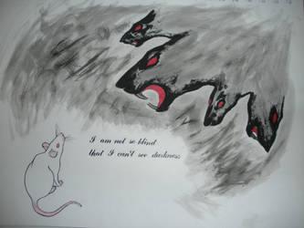 Dangerous Beans vs. The Rat King by Energetic-Emo