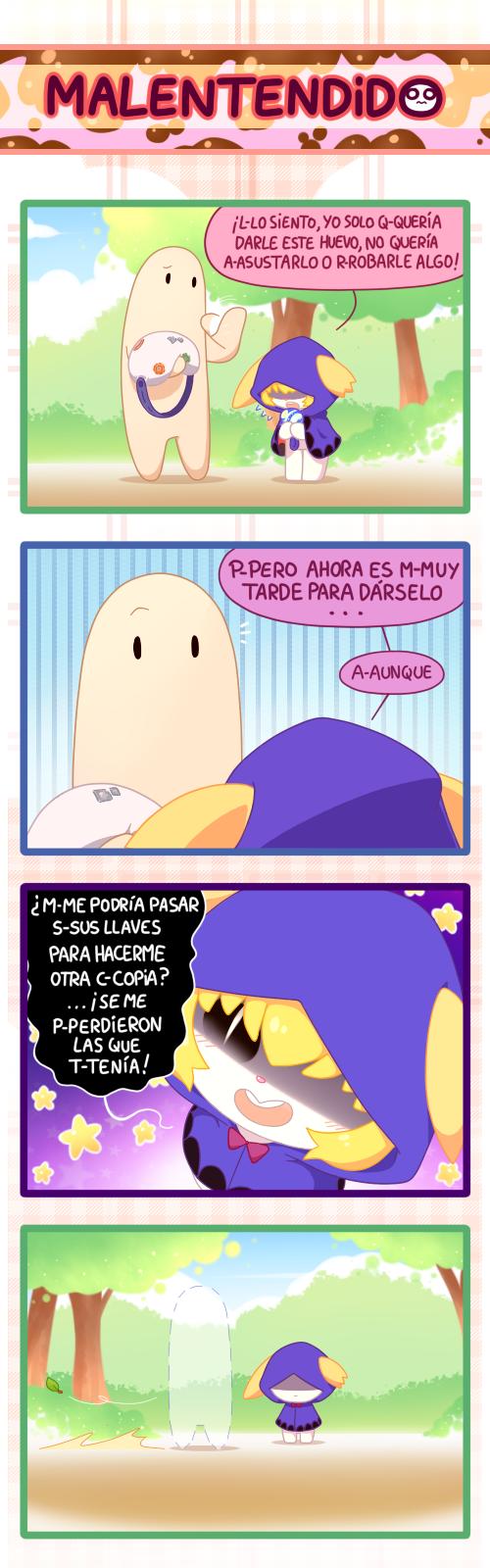 Malentendido/ comic random by Ransaros