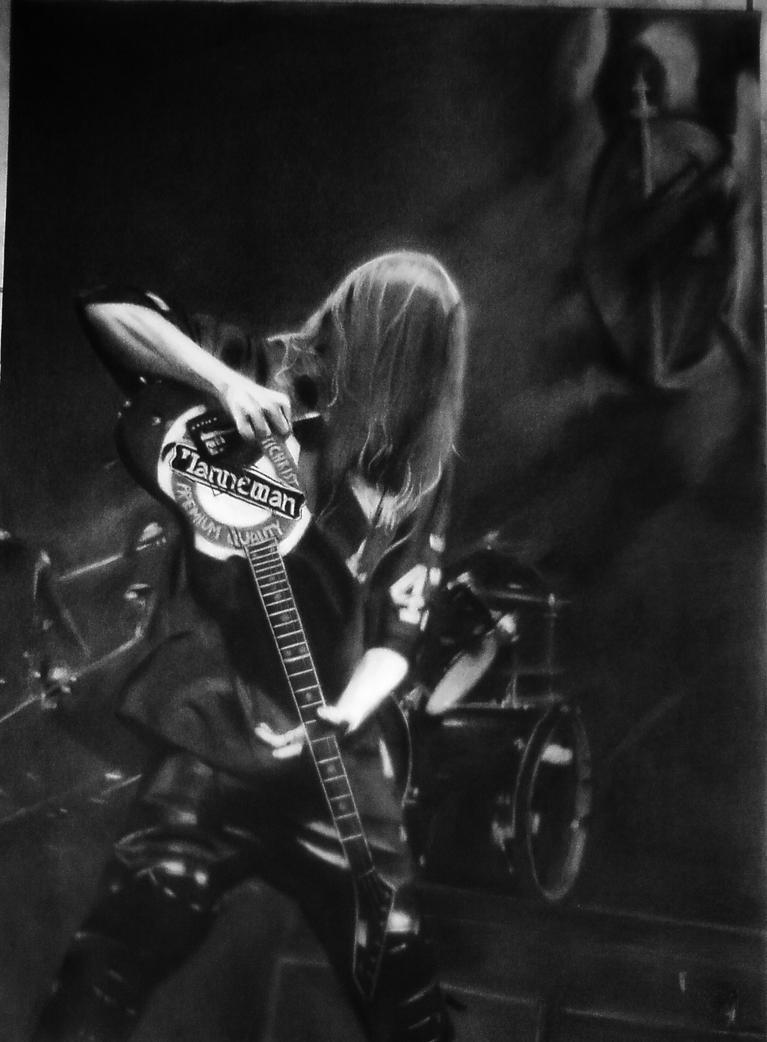 Jeff Hanneman by EmberHope on DeviantArt